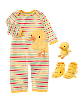 Spring Ducks Outfit by Gymboree