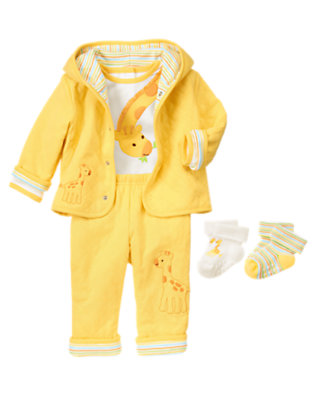 Baby's Baby Giraffe Outfit by Gymboree