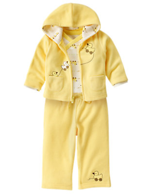Cozy Duckie Outfit by Gymboree