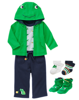 Frogs & Snails Outfit by Gymboree