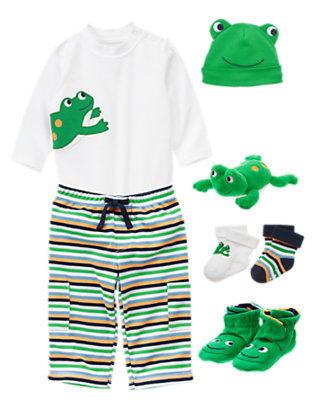 Baby Leap Frog Outfit by Gymboree