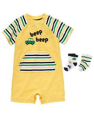 Baby's Beep Beep! Outfit by Gymboree