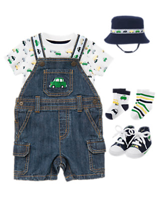 Baby's Lil' Sunday Driver Outfit by Gymboree
