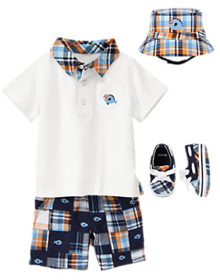 Baby's Gone Fishing Outfit by Gymboree
