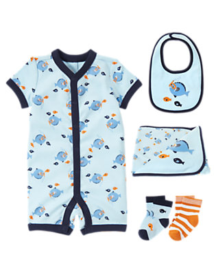 Baby's Goodnight Fish Outfit by Gymboree