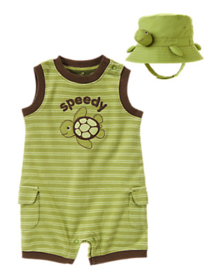 Baby's Little Speedy Outfit by Gymboree