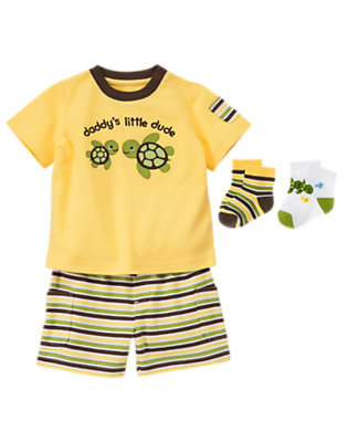 Baby's Daddy's Little Dude Outfit by Gymboree