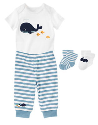 Baby's Whale Of A Time Outfit by Gymboree
