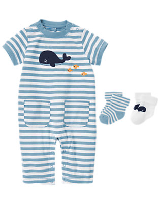 Seaside Stripes Outfit by Gymboree