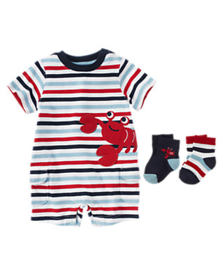 Baby's Stripey Lobster Outfit by Gymboree