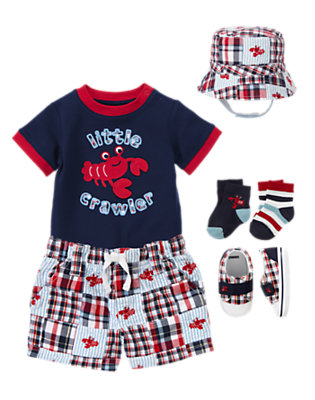 Beach Crawler Outfit by Gymboree