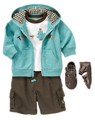 Baby's Little Tough Guy Outfit by Gymboree