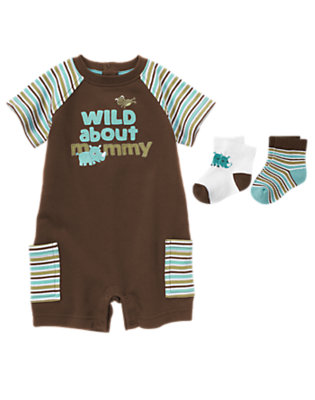 Wild About Mommy Outfit by Gymboree