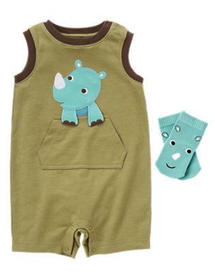 Rhino Cutie Outfit by Gymboree