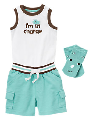 I'm In Charge Outfit by Gymboree