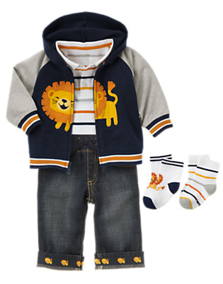 Friendly Lion Outfit by Gymboree