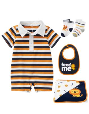 Newborn Boy 2012 Fall Transition Lion Line