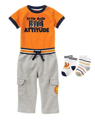 Wild One Outfit by Gymboree