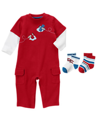 Flying Around Outfit by Gymboree
