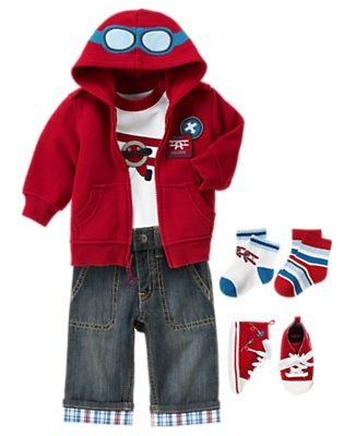 Baby Pilot Outfit by Gymboree