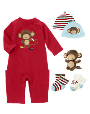 Cute Monkey Outfit by Gymboree