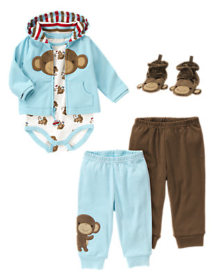 Mr. Monkey Outfit by Gymboree