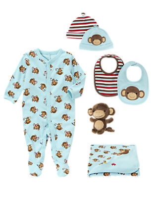 Playtime Monkey Outfit by Gymboree