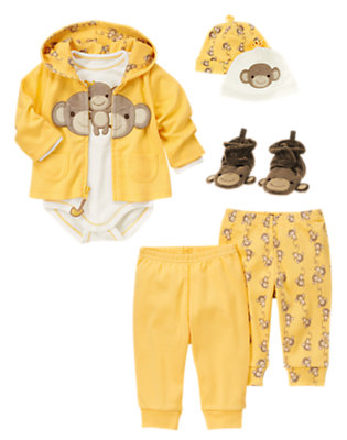 Silly Monkey Outfit by Gymboree