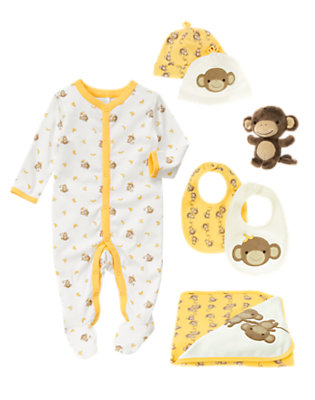 Baby's Monkeying Around Outfit by Gymboree