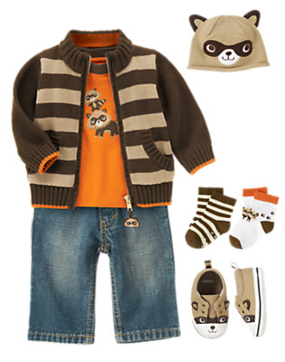 Baby Raccoon Outfit by Gymboree