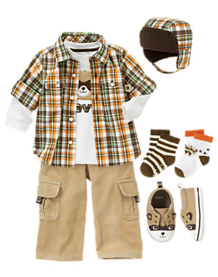 Clever Little Dude Outfit by Gymboree