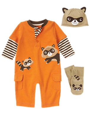 Mischievous Raccoon Outfit by Gymboree