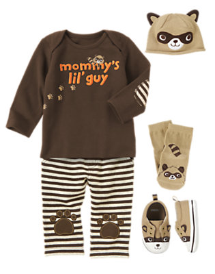 Paw Prints Outfit by Gymboree