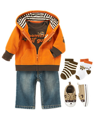 Mommy's Lil' Guy Outfit by Gymboree