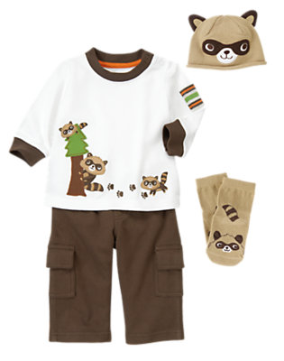Baby's A Little Rascally Outfit by Gymboree
