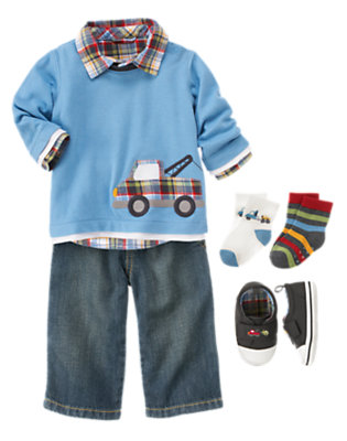 Tiny Driver Outfit by Gymboree