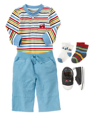 Active Guy Outfit by Gymboree