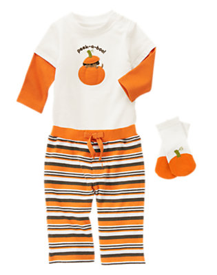Baby's Peek-a-BOO! Outfit by Gymboree