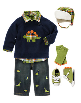 Baby Dino Outfit by Gymboree