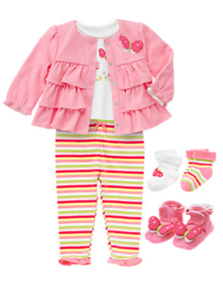 Snuggly Ruffles Outfit by Gymboree