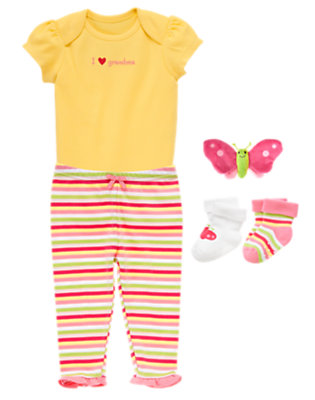 I Heart Grandma Outfit by Gymboree