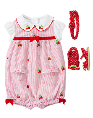 Baby's Sweet Stripes Outfit by Gymboree