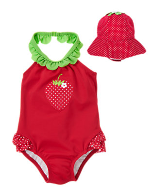 Baby's Strawberry Splash Outfit by Gymboree