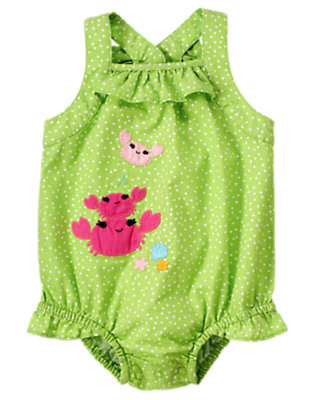 Baby's Crab Happy Outfit by Gymboree