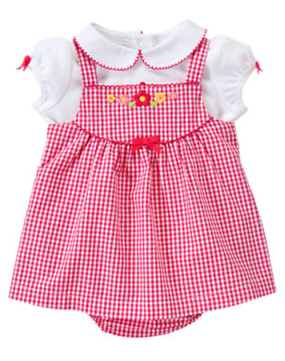 Gingham Sweet Outfit by Gymboree