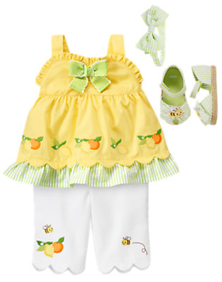 Lemon Bright Outfit by Gymboree