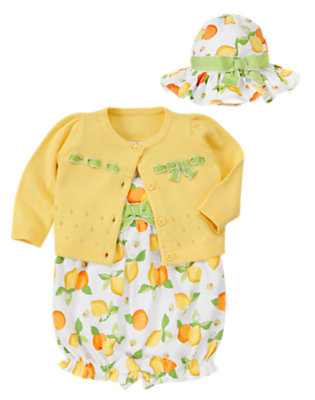 Citrus-y Sweet Outfit by Gymboree