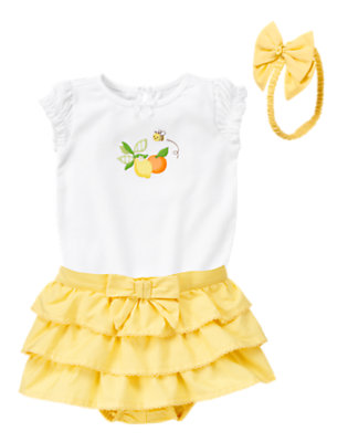 Little Lemon Outfit by Gymboree