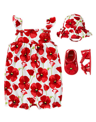 Baby's Little Poppy Outfit by Gymboree