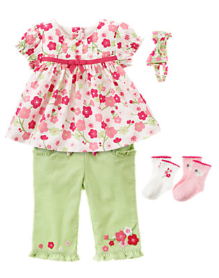 Floral Stroll Outfit by Gymboree
